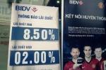 Cả 'làng' giảm lãi suất, chi nhánh BIDV tăng