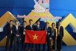 Học sinh Việt giành 3 Huy chương Vàng Olympic Hoá học quốc tế 2017, xếp thứ 2 thế giới