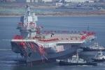 Trung Quốc thử nghiệm tàu sân bay đầu tiên tự sản xuất