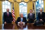 Ông Trump tuyên bố xây tường thành ngăn biên giới