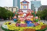 Xuân về trên phố đi bộ Nguyễn Huệ ngày 28 Tết