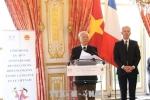 Tổng Bí thư dự Lễ kỷ niệm 45 năm quan hệ ngoại giao Việt Nam-Pháp