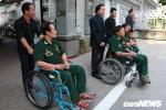 Xúc động hình ảnh 6 thương binh già đến viếng Chủ tịch nước Trần Đại Quang
