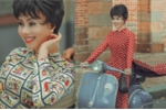 Hoa hậu Hằng Nguyễn đẹp cổ điển với áo dài Sài Gòn xưa