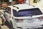 Bẻ trộm gương ô tô bị bắt tại trận và cái kết 'đắng'