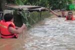 Bão số 4 quét qua Nghệ An: Nước ngập đến cổ, ít nhất 4 người chết