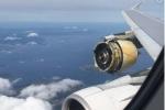 Video: Máy bay chở gần 500 hành khách vỡ vỏ động cơ khi đang bay giữa trời