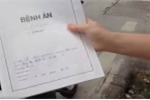 Xôn xao clip cảnh sát trật tự lập biên bản xử phạt xe cứu thương đang chờ bệnh nhân