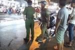 Gây tai nạn liên hoàn, nam thanh niên vứt xe máy bỏ chạy