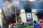 Cháy trụ sở Ủy ban MTTQ Việt Nam TP Mỹ Tho, nhiều tài liệu bị thiêu rụi