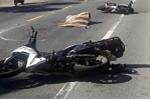 Xe đầu kéo tông 2 xe máy, du khách nước ngoài thiệt mạng