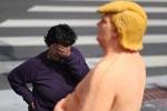 Tượng Donald Trump khỏa thân ấn tượng nhất tuần