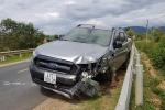 Xe ô tô rơi bánh, tông chết nam dân quân