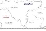 Động đất 3,9 độ richter kèm tiếng nổ lớn ở Quảng Nam