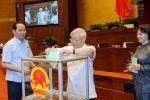 Quốc hội đã bỏ phiếu kín bầu Chủ tịch Quốc hội khoá mới