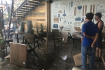 20 thanh niên hỗn chiến trong quán cà phê ở Sài Gòn