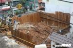 Tìm thấy bom trong công trình xây dựng giữa khu dân cư ở TP.HCM