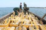 Bắt giữ 2 vụ vận chuyển hải sản trái phép lớn sang Trung Quốc