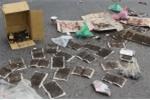 Ảnh: Dân Sóc Sơn mang ruồi đánh bả ra đường chặn xe chở rác