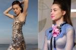 Hồ Ngọc Hà và những trang phục xuyên thấu gây tranh cãi