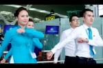Phi công và tiếp viên hàng không Vietnam Airlines nhảy trên nền nhạc 'Bống bống bang bang'  gây sốt
