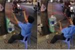 Clip: Bảo vệ ở Sài Gòn 'tập gym' trên hè phố khiến khách Tây trầm trồ