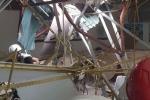 Clip: Hiện trường cần cẩu đứt cáp, vật liệu xây dựng rơi ngổn ngang ở Mễ Trì, Hà Nội