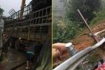 Thực hư thông tin xe chở lợn bị lật, dân đua nhau 'hôi của' ở Lạng Sơn