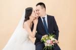 Ảnh cưới lãng mạn của Á hậu Vân Quỳnh và giảng viên Đại học