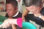 Video: Bệnh nhân chảy máu ồ ạt sau khi bác sỹ châm cứu