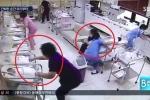 Bệnh viện rung chuyển vì động đất, y tá Hàn Quốc dùng thân mình che chắn trẻ sơ sinh