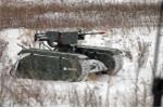 Sức mạnh khủng khiếp của robot chiến tranh phiên bản xe tăng ở Estonia