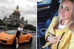 Video: 'Quái xế' chân dài lái siêu xe trên đường ông Putin đi làm