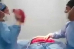 Video sốc: 'Phê' nhạc, bác sỹ, y tá cầm da bụng bệnh nhân nhảy múa quay cuồng gây phẫn nộ