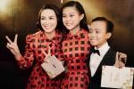Hồ Văn Cường diện vest bảnh bao đi xe sang đến nhận giải cùng mẹ và chị gái