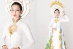 Vừa trở lại top 8 'Hoa hậu Quốc tế 2018', Thùy Tiên hé lộ trang phục dân tộc