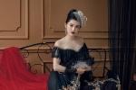 Á hậu Huyền My 'tái xuất' đầy ma mị với áo dài hoàng gia độc đáo của Kenny Thái