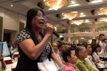 Đại hội cổ đông Sacombank: Cổ đông căng thẳng truy trách nhiệm ông Trầm Bê