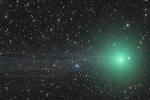 Sao chổi mang ánh sáng xanh kỳ lạ đang hướng về Trái Đất