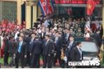 Những hình ảnh đầu tiên ông Kim Jong-un tại ga Đồng Đăng, Lạng Sơn