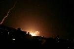 Video: Thủ đô Syria rung chuyển trong đêm sau lệnh tấn công của Tổng thống Mỹ