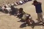 Video: Hàng trăm tay súng IS quỳ gối xin hàng giữa sa mạc