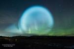 Sự thật quầng sáng kì dị xuất hiện trên bầu trời nước Nga nghi do người ngoài hành tinh