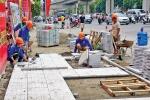 Chủ tịch Hà Nội chỉ đạo tạm dừng dự án lát đá vỉa hè độ bền 70 năm