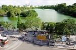 Cải tạo Hồ Gươm: Bộ Xây dựng yêu cầu làm rõ phương án thay thế cây xanh
