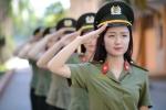 Nam thanh, nữ tú Học viện An ninh nhân dân rạng rỡ trong bộ quân phục