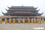 Hàng ngàn đại biểu về chùa Tam Chúc dự khai mạc Đại lễ Vesak 2019