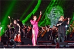 Tóc Tiên, Mỹ Tâm 'đốt cháy' sân khấu đại nhạc hội 'Sống' trong đêm thu Thủ đô