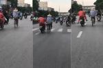 Đạp xe buông cả 2 tay như làm xiếc trên phố và cái kết siêu hài