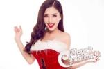 Hot girl ĐH Nha Trang khoe vai trần gợi cảm đón Giáng sinh
